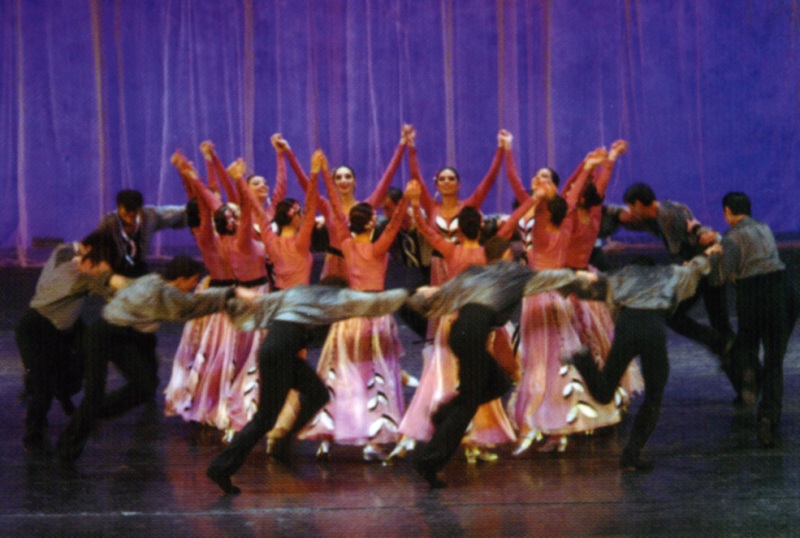 """Танцы """"Барекамутюн"""" из Армении"""