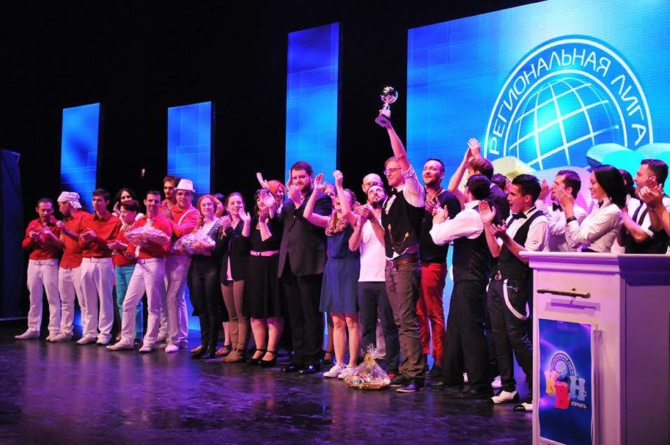 «Бочковое свежее» — победитель Региональной лиги КВН «АМиК»
