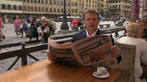 """Британский """"безумец"""" путешествует по Италии"""