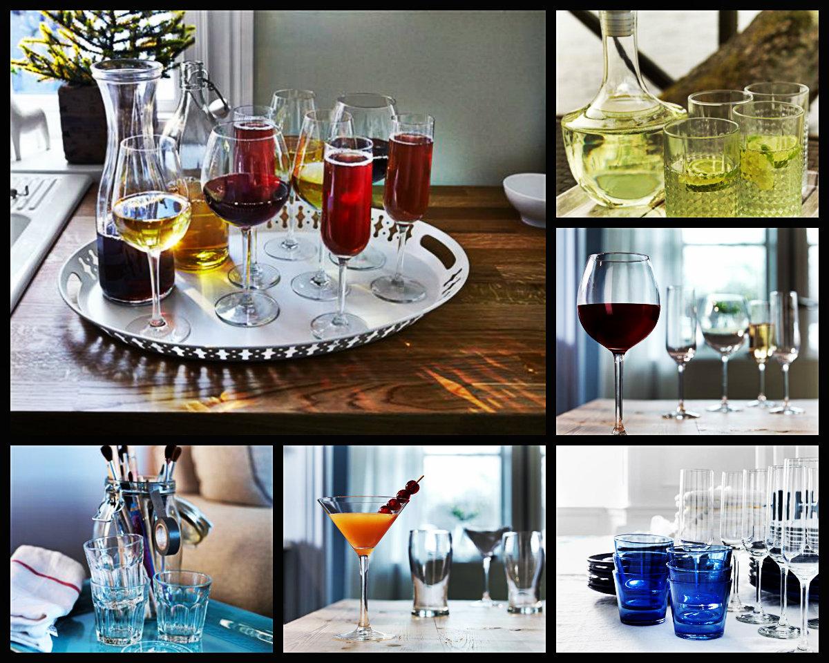 Выбираем бокалы к Новому году: советы дизайнеров IKEA