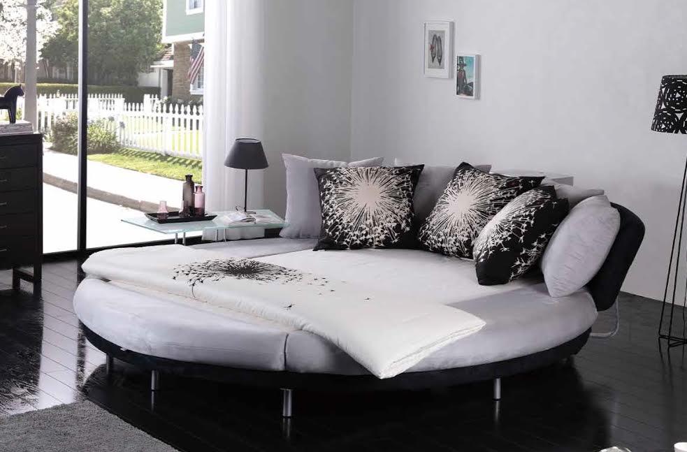Круглая кровать: плюсы и минусы оформления спальни