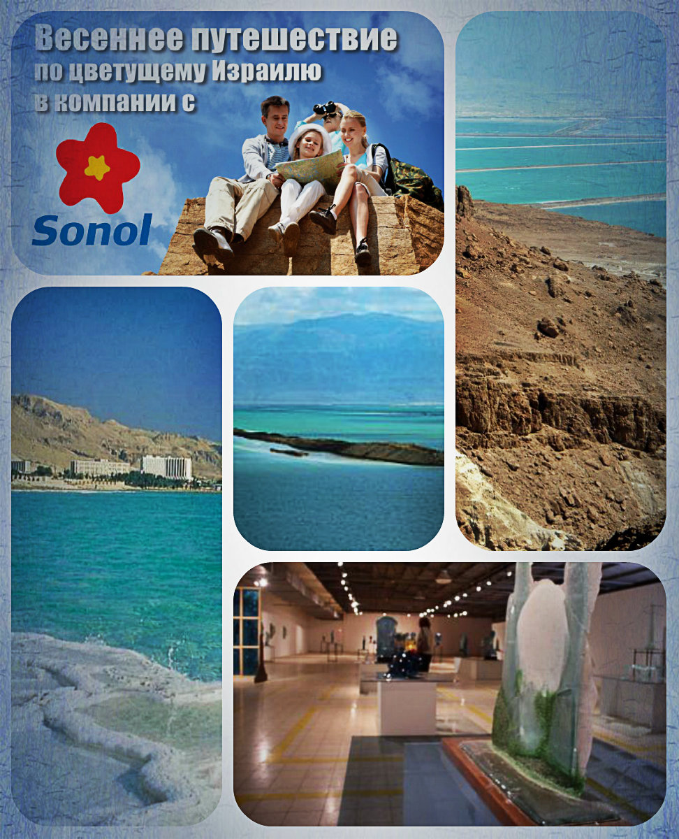 Март – время для путешествия в район Мертвого моря