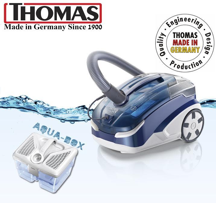 Моющие пылесосы Thomas: 100% сделано в Германии