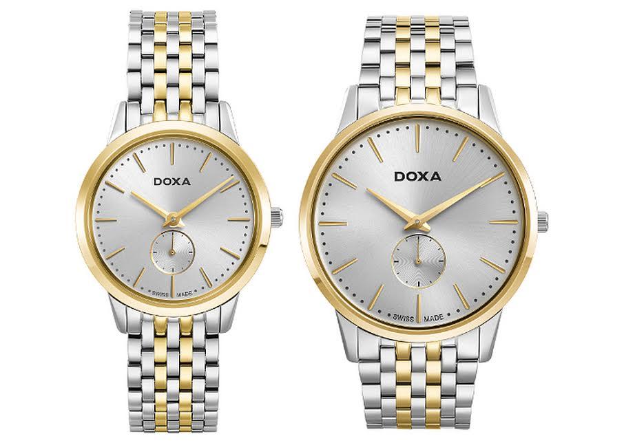 Новые часы DOXA Slim Line – элегантная классика