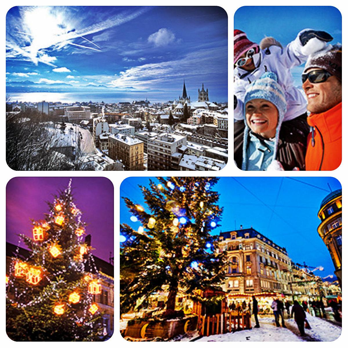 Празднование Нового Года в Швейцарии