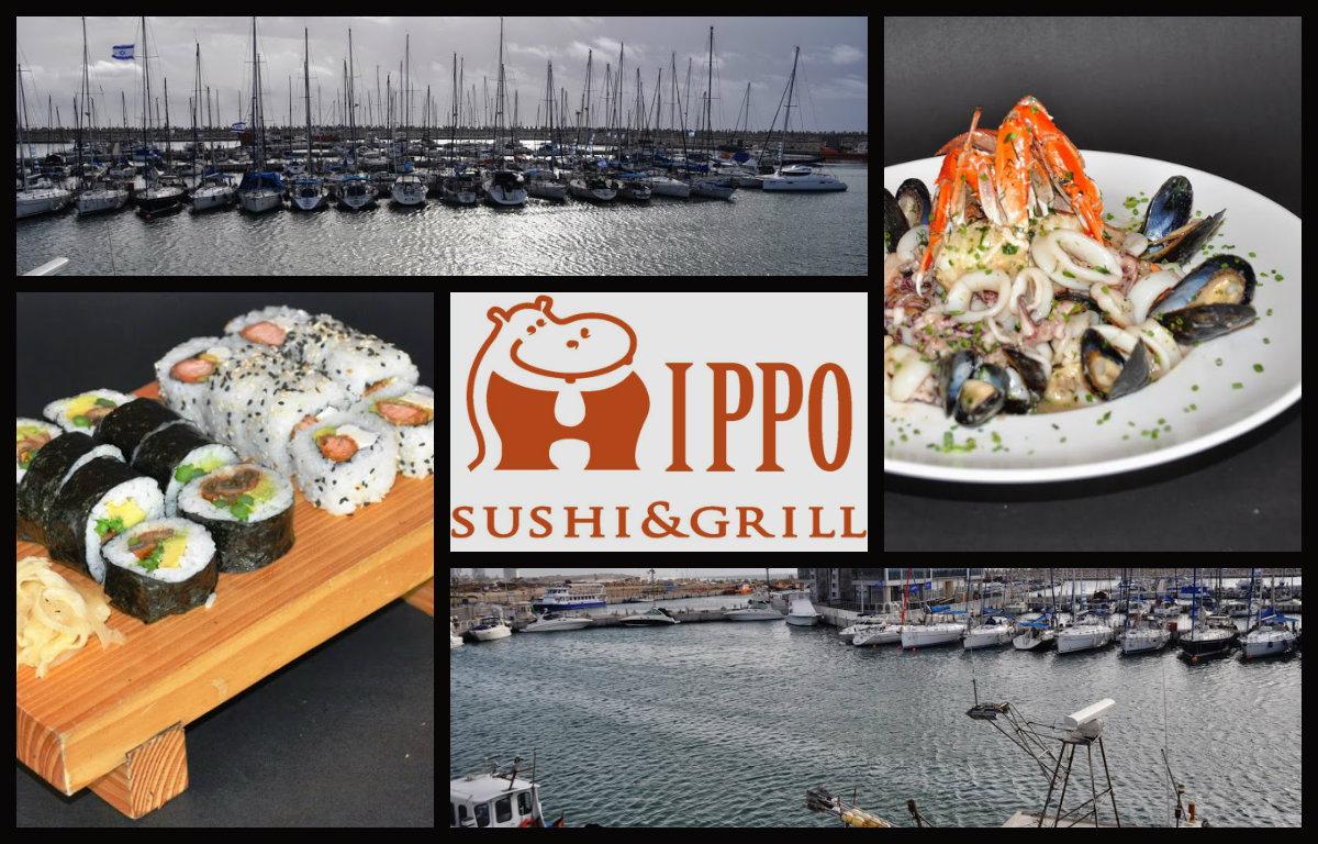Ресторан Hippo – ужин в стиле фьюжн с видом на яхты