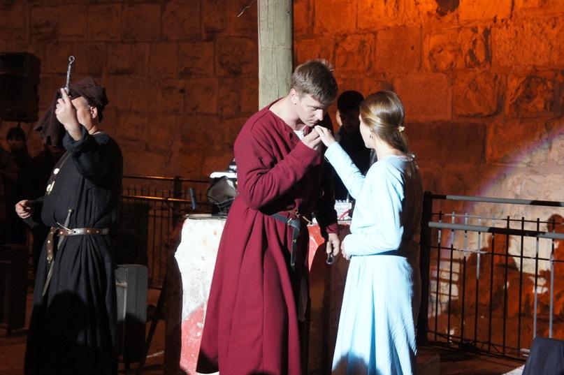 Свадьба, как повод для рыцарского турнира