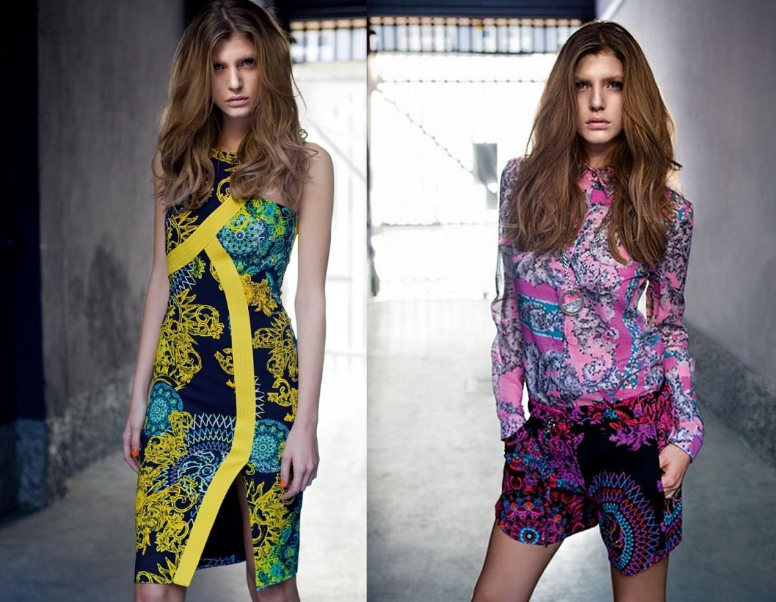 Стиль от Versace – ярко, смело, эффектно