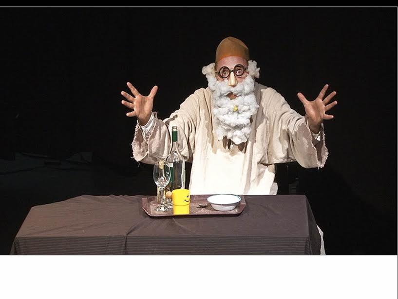 Федор Макаров покажет в Ришон ле-Ционе моноспектакль «Бэби-Фауст»
