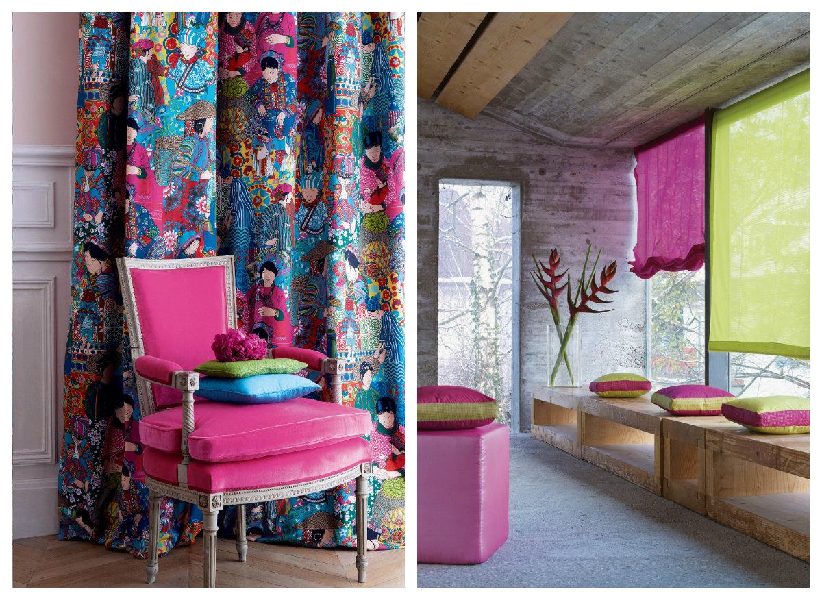 Цветные шторы
