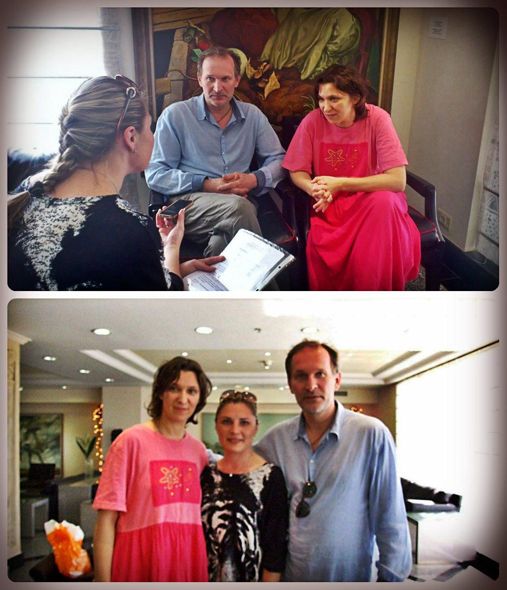 Эксклюзивное интервью со «Сватами»