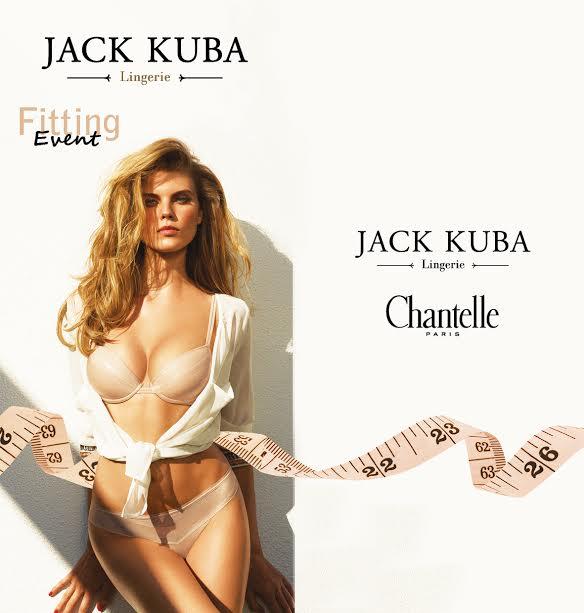 Jack Kuba: индивидуальный подбор белья от эксперта парижской Chantelle!