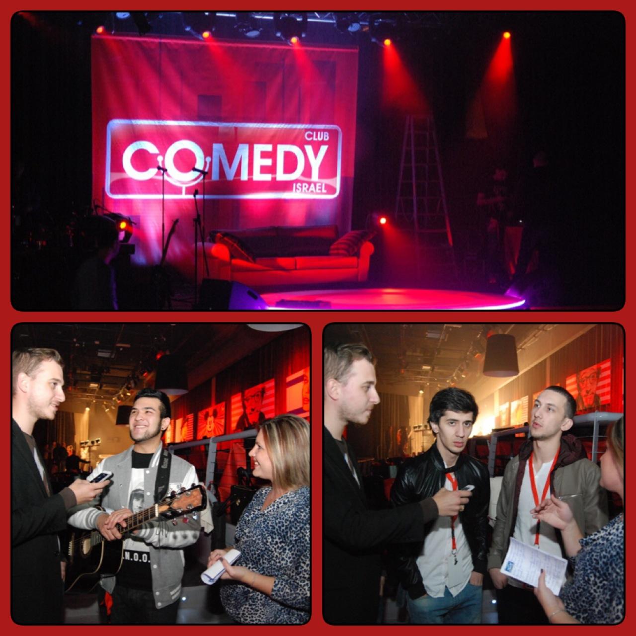 Эксклюзивное интервью с резидентами «Comedy Club»