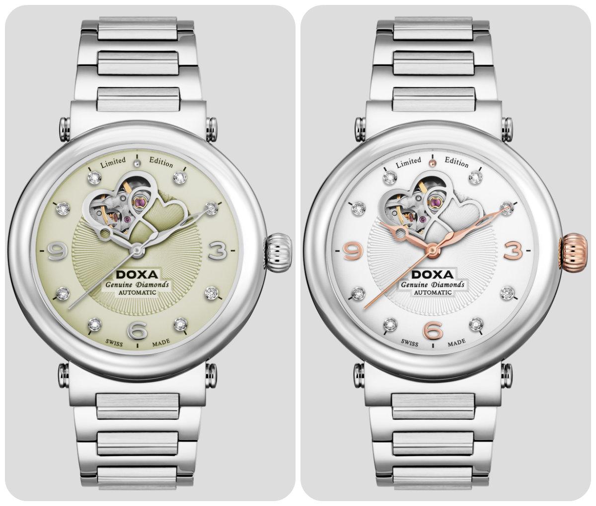 Из Швейцарии с любовью – часы Spiral Heart от DOXA