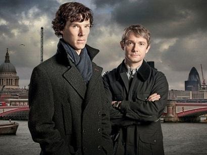 Современный гений Холмс, но в наше время…