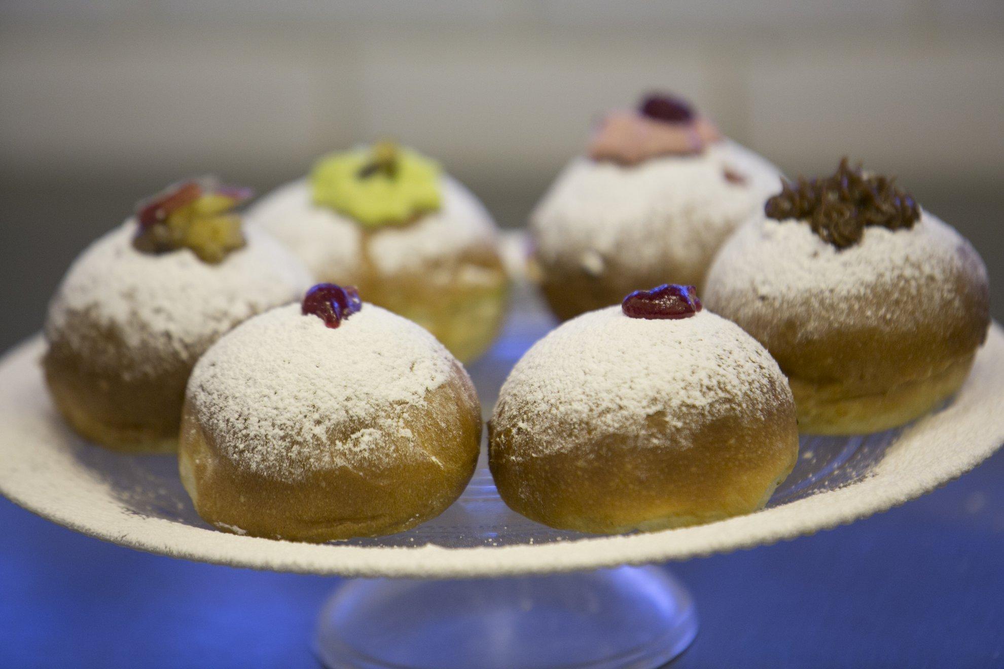 Рецепт роскошного ханукального пончика от Muller.