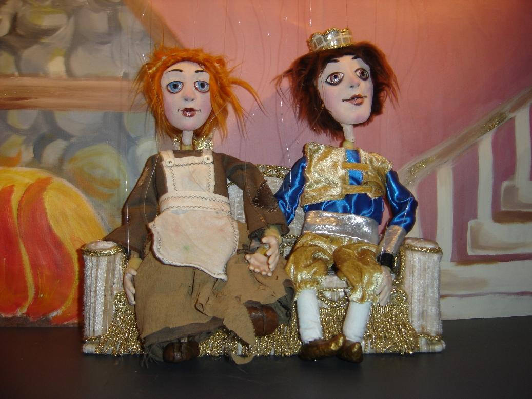 """Театр кукол """"Бамбола"""" на выставке кукол Dolls Art в Яффо"""