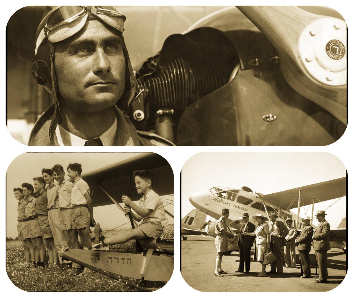 Мечта о полете – 100 лет авиации в Израиле
