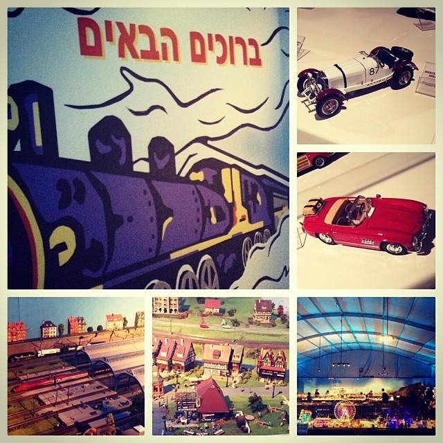 Уникальные поезда и машинки со всего мира приехали в Тель-Авив