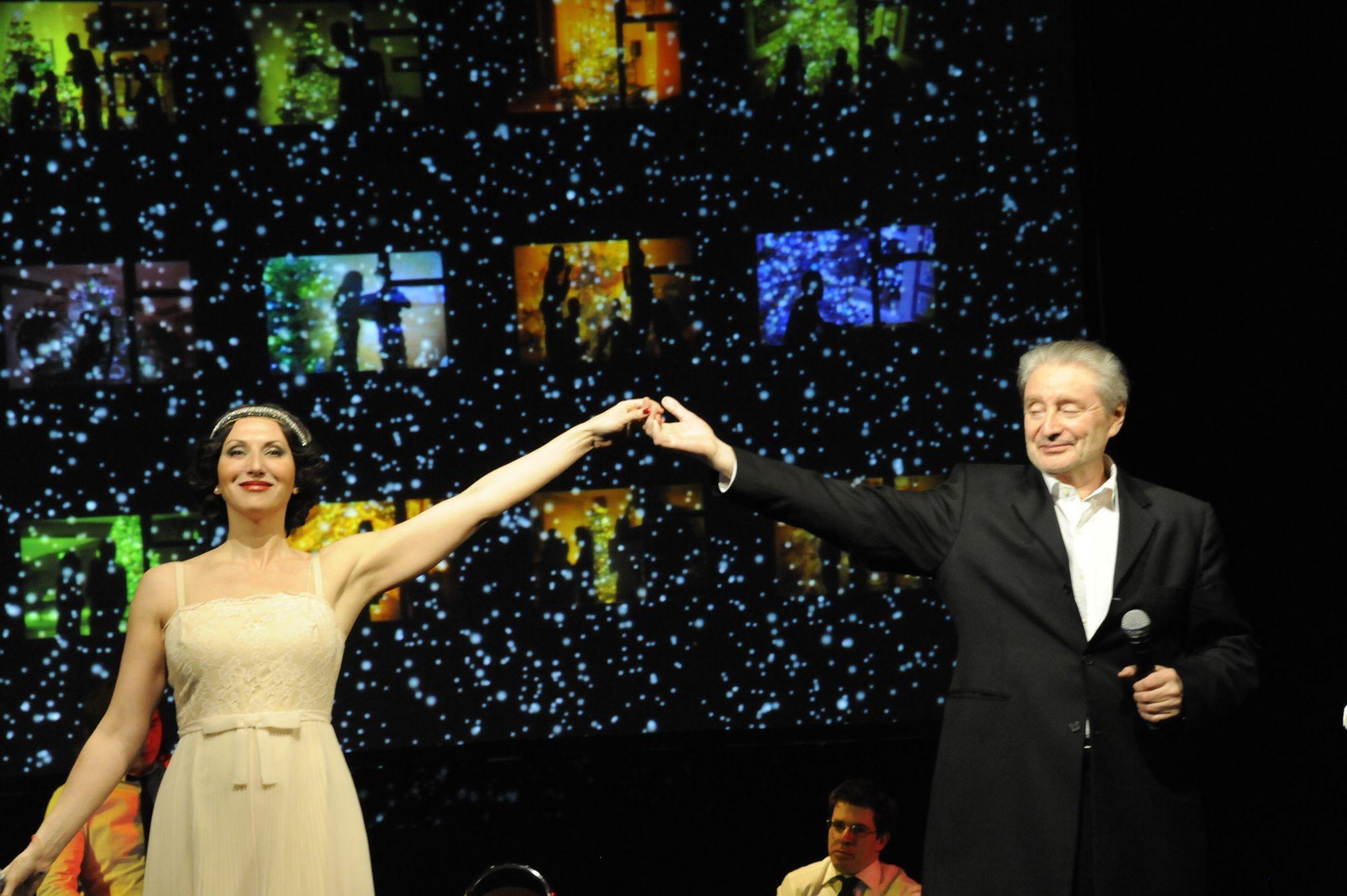 Двенадцать месяцев танго Вениамина и Алики Смеховых