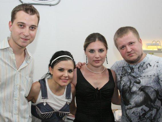 """интервью с группой """"Инфинити"""" Клуб FABRIQUE 01/07/2010"""
