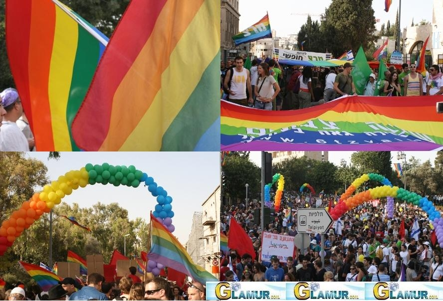 Парад гордых в центре Иерусалима