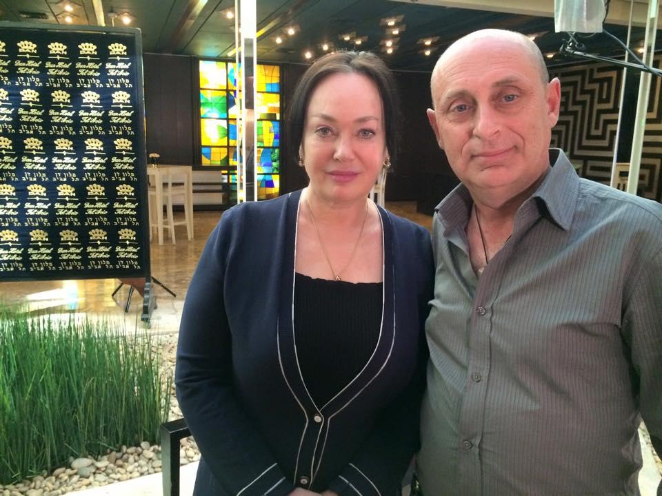 Лариса Гузеева уже в Израиле!