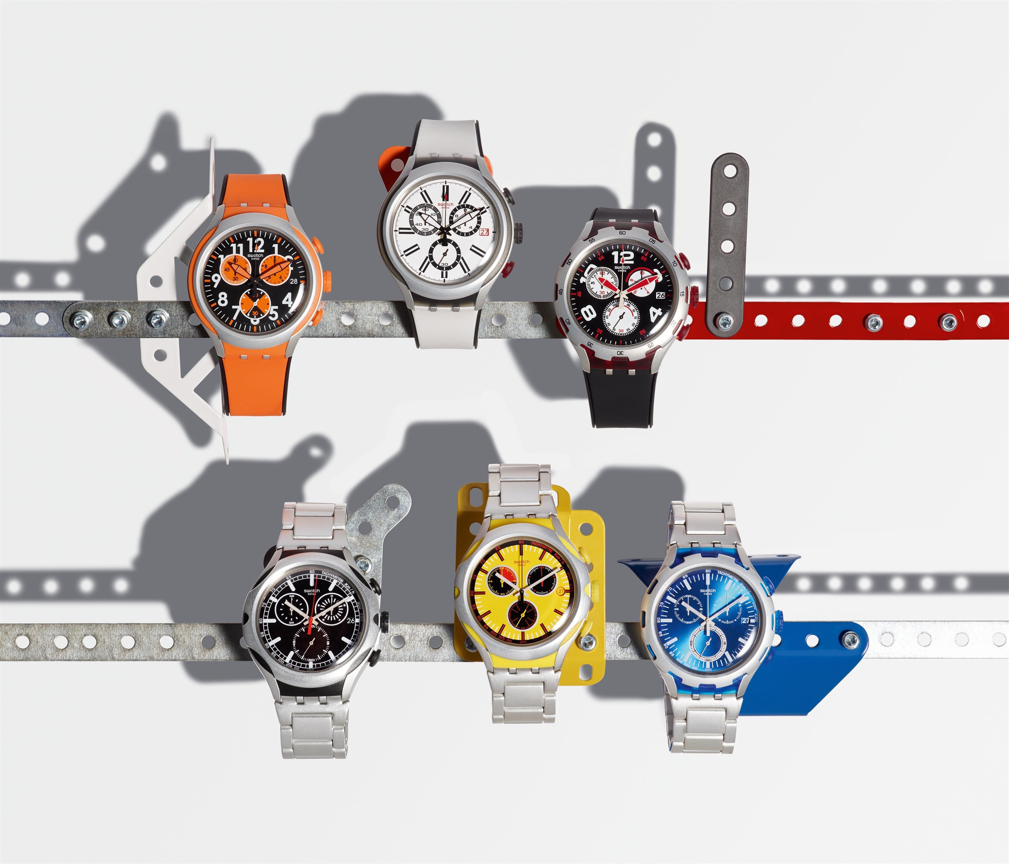 Новые часы Swatch Irony Xlite для мужчин