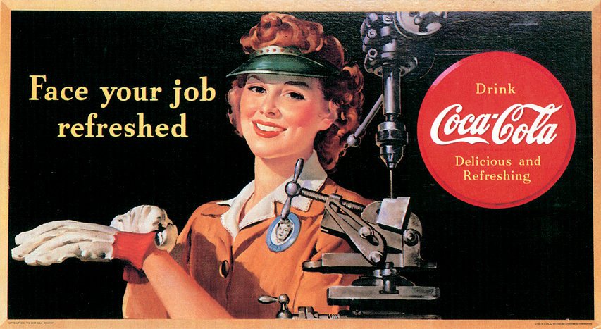 Coca-Cola: женские образы в рекламе компании