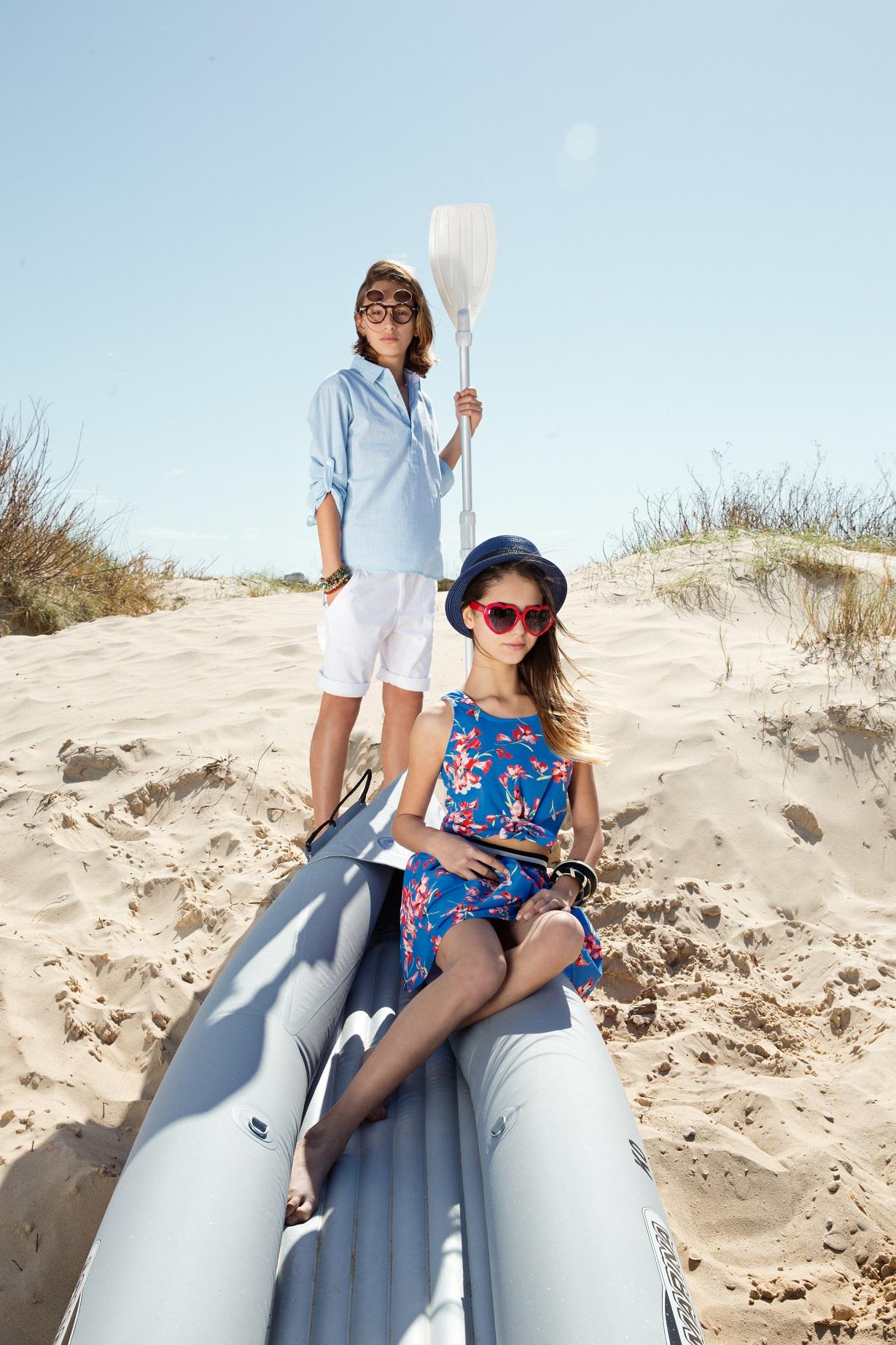 Honigman Kids напомнил о пяти основных вещах детского летнего гардероба