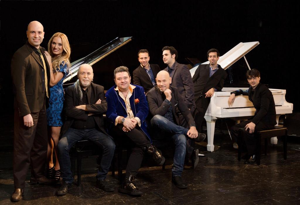 7 пианистов и одно сопрано…