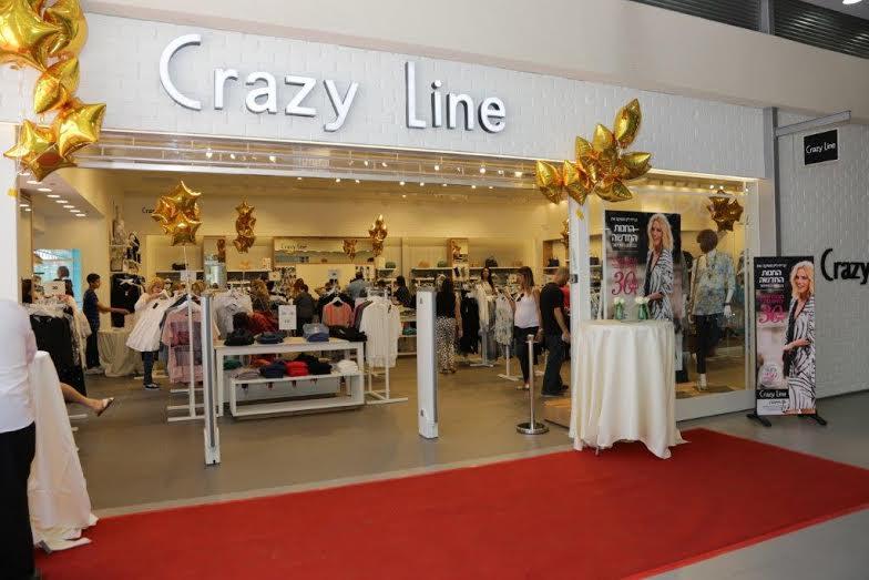 Обновленный флагманский бутик Crazy Lineоткрыт в Бэер-Шеве
