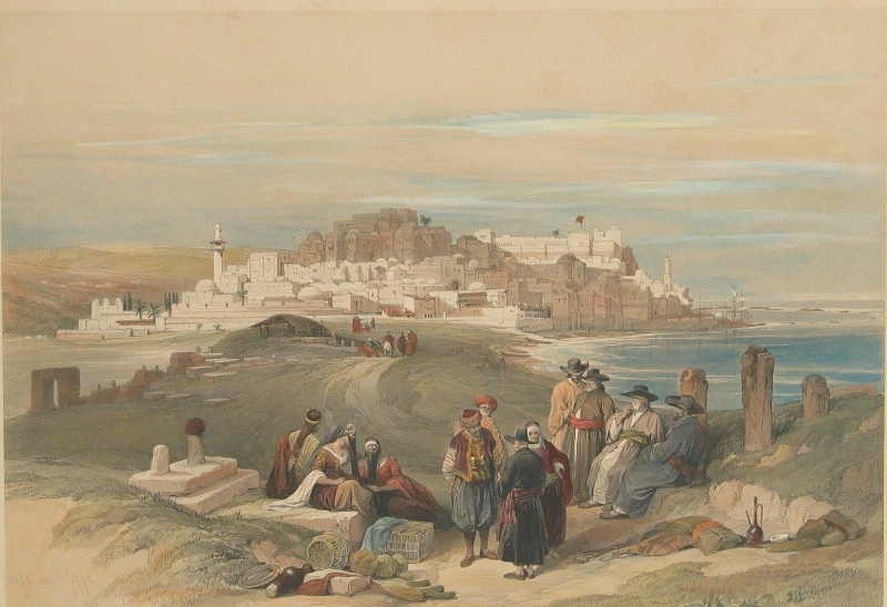 Jaffa in the Printmaker's Art - 17th-19th Centuries (2)