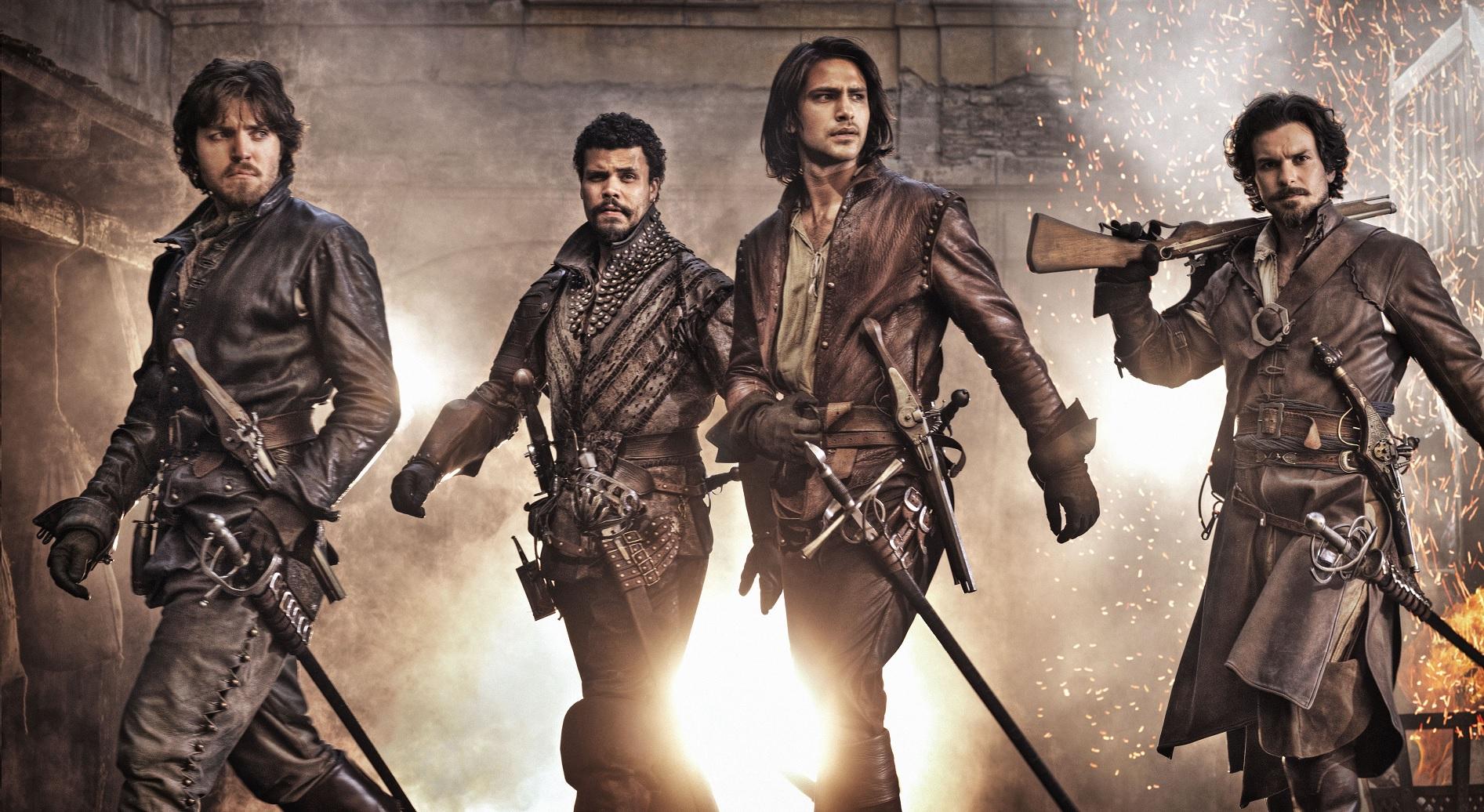 Как будет «три мушкетера» по-английски?