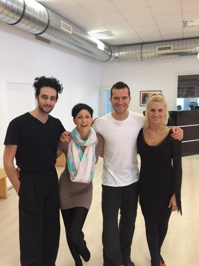 Grazia - Galina Shustin - interview - masterklass v Vengrii