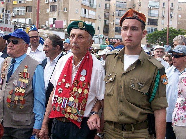 Израиль готовится к празднованию 70-летия Дня Победы.