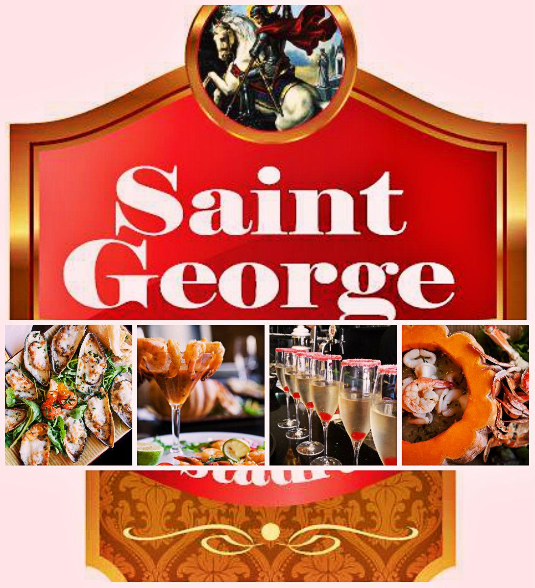 А в ресторане «Saint George» готовит не повар, а художник…