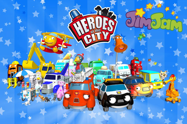 Городские герои на канале JimJam