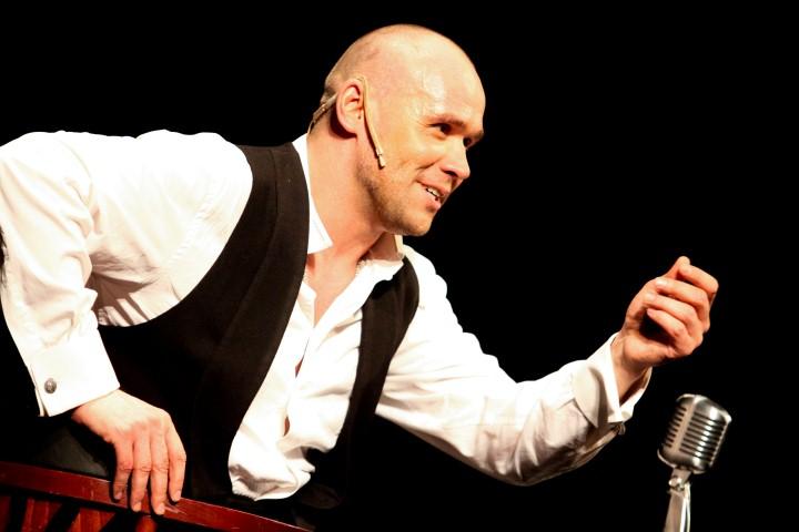 Максим Аверин – главный герой своего спектакля