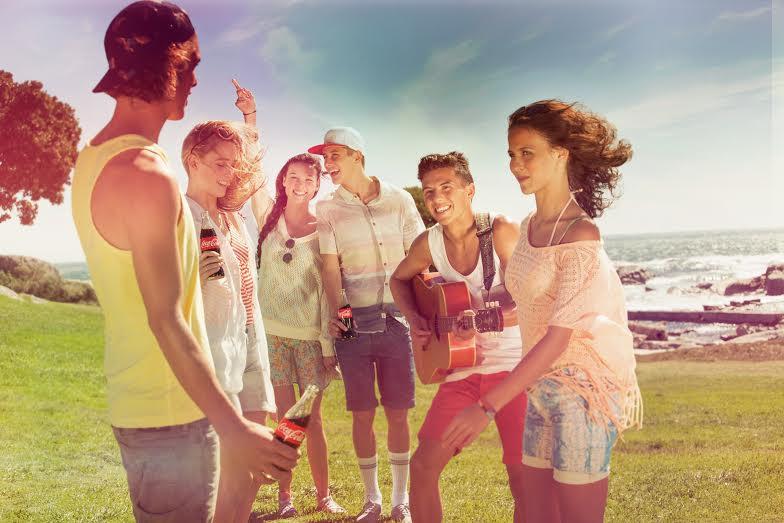 "Coca-Cola Summer Love на пляже ""Дор"" (Нахшолим)"