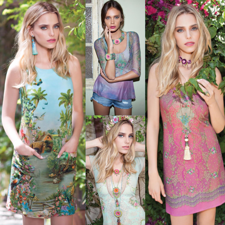 Летняя коллекция Michal Negrin: наряды для «вальса цветов»