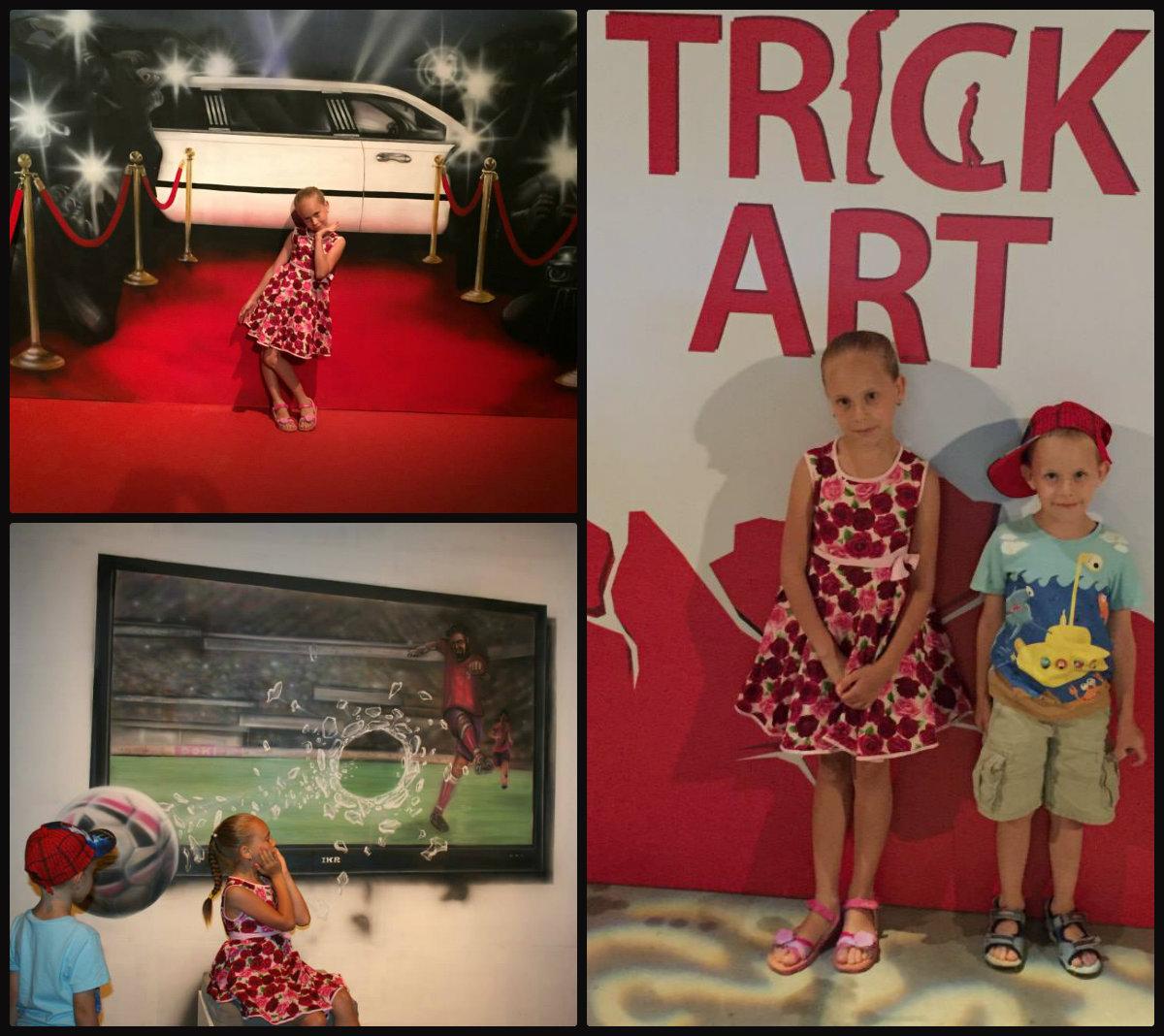 Впервые в Израиле: Trick Art – выставка оптических иллюзий