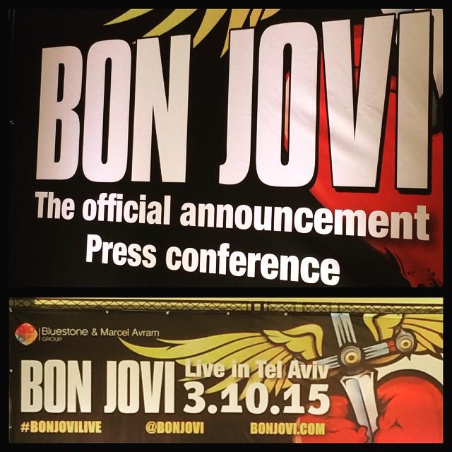 Призывы бойкотировать Израиль не повлияют на планы Bon Jovi!