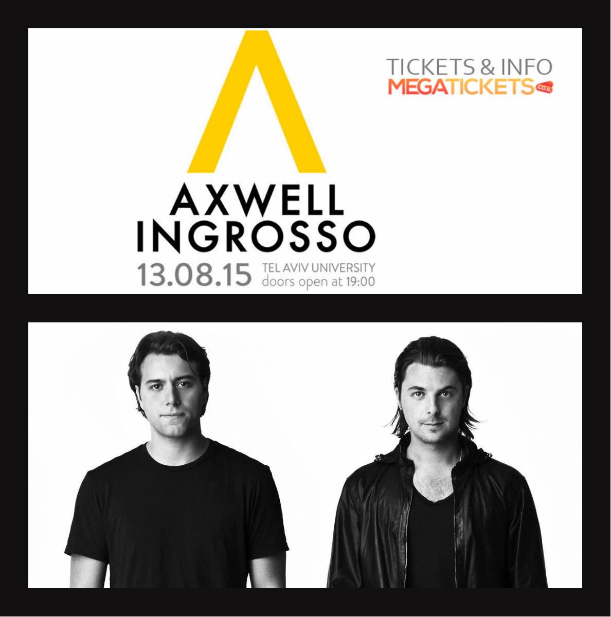 Axwell & Ingrosso по дороге в Тель-Авив