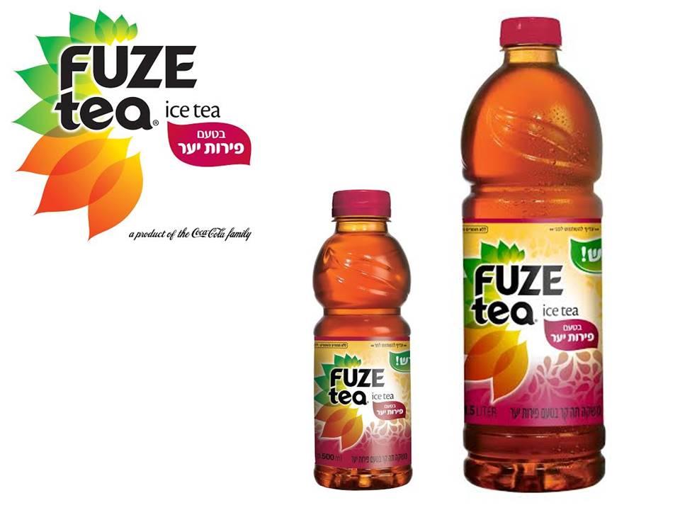 FUZE-tea представляет новый вкус – лесные ягоды