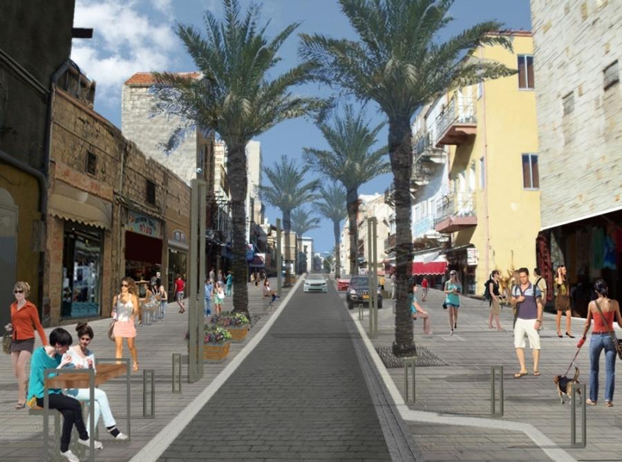 Хайфа: реализация проекта по обновлению нижней части города