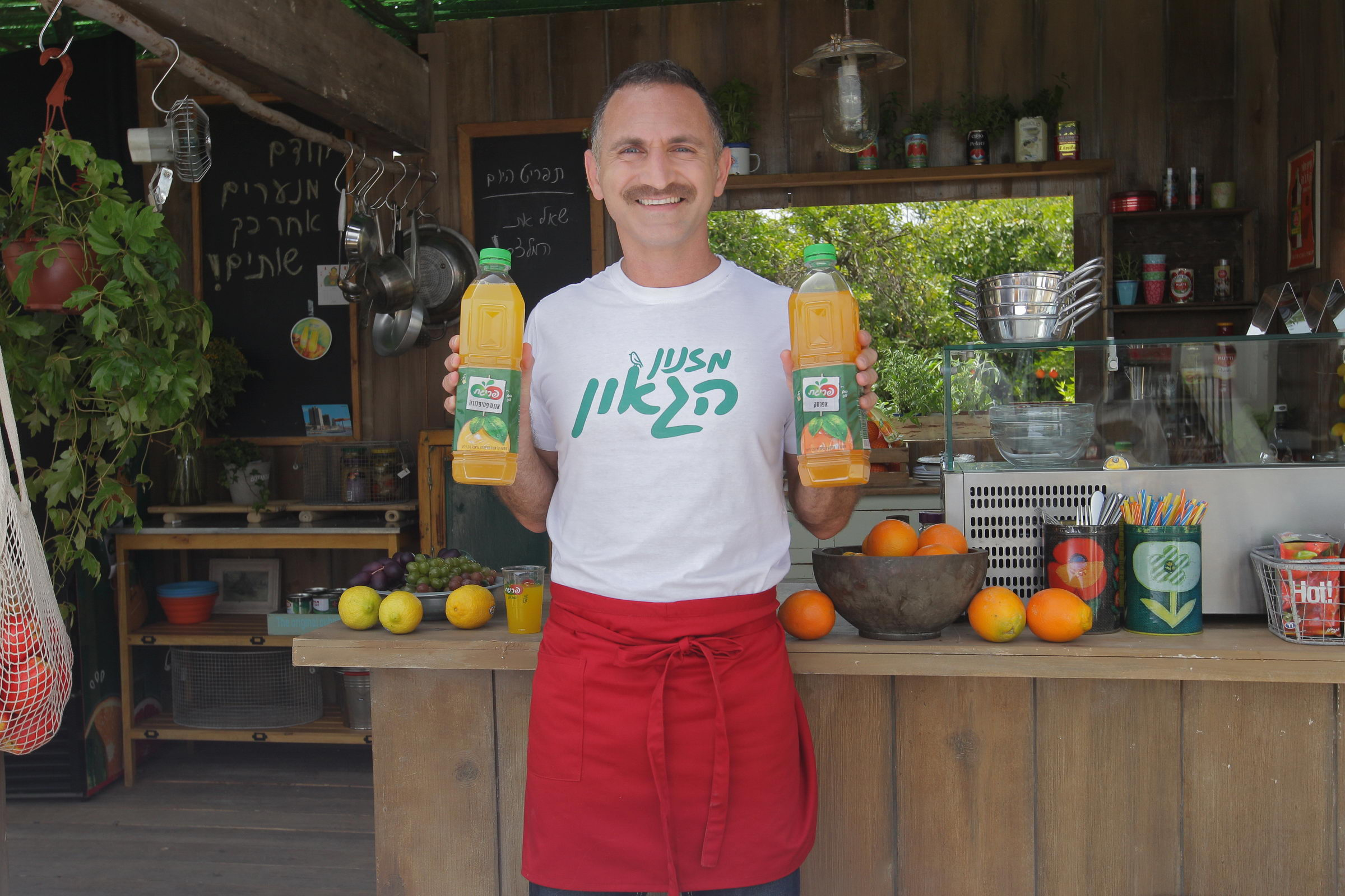 Prigat предлагает два новых легких напитка – «Персик» и «Ананас-пассифлора»