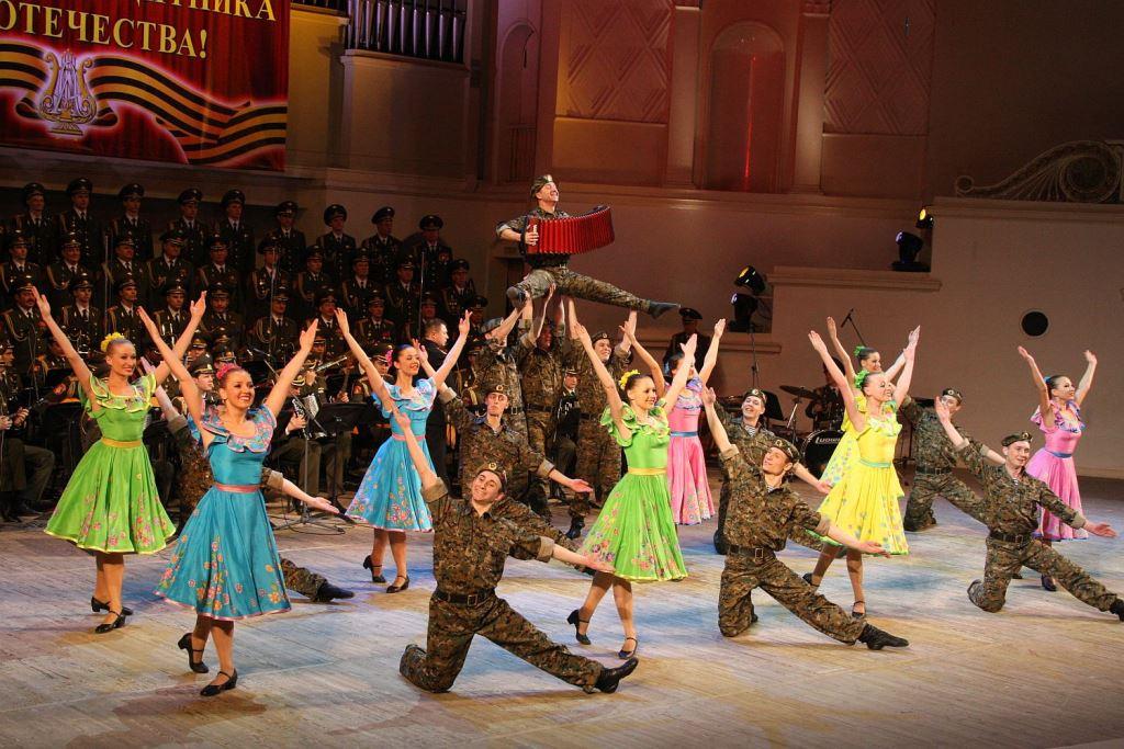 Легендарный академический ансамбль песни и пляски Российской Армии имени А.В. Александрова начинает мировое турне в Израиле!