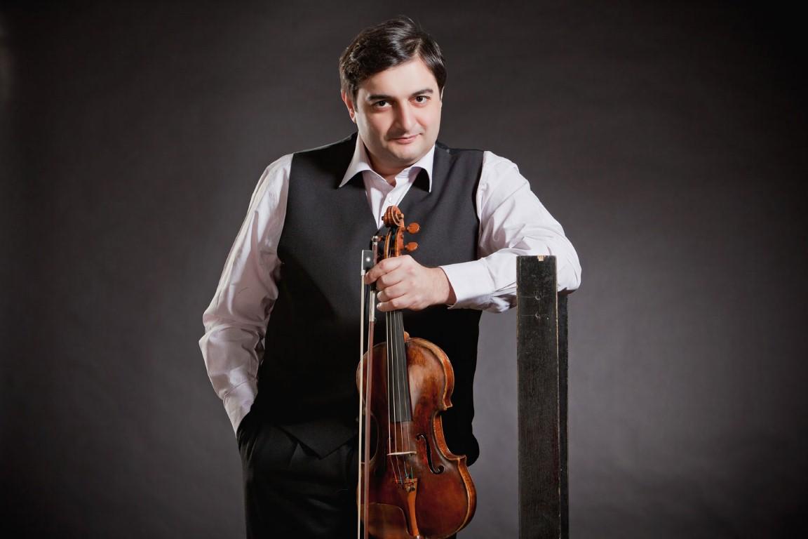Cкрипач Граф Муржа – впервые в Израиле.24 каприса Паганини в одном концерте
