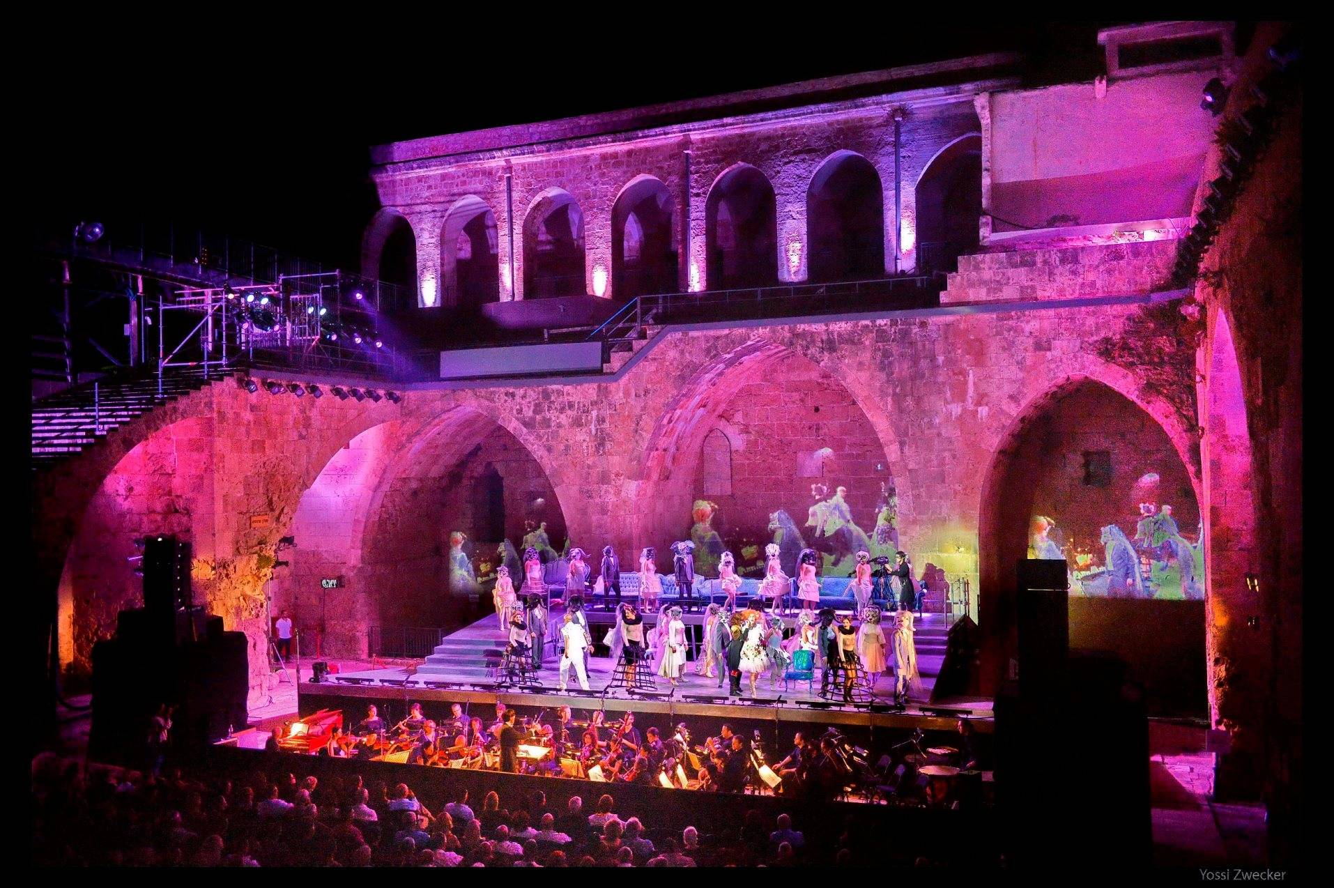 Фестиваль Израильской оперы в Акко